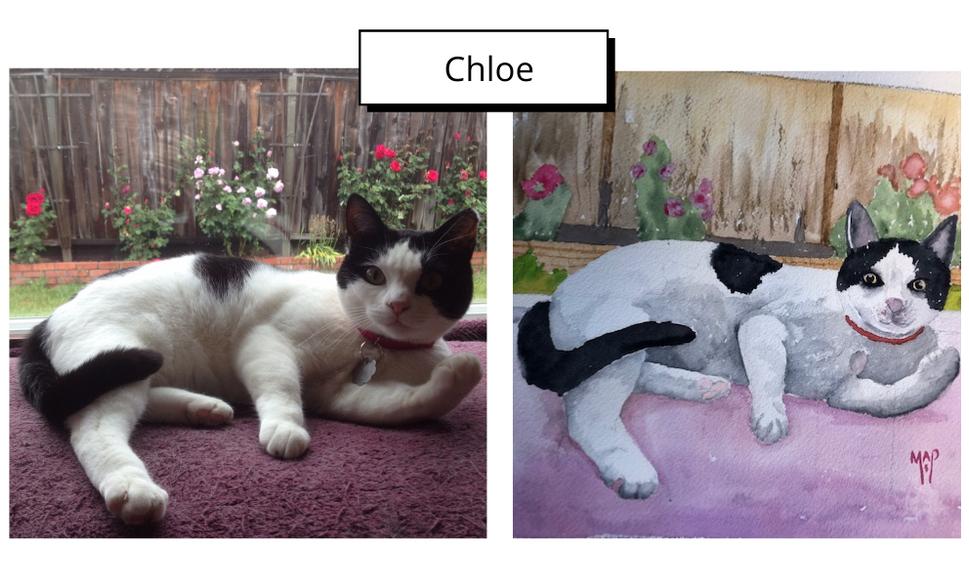 Chloe by Margaret Peacock