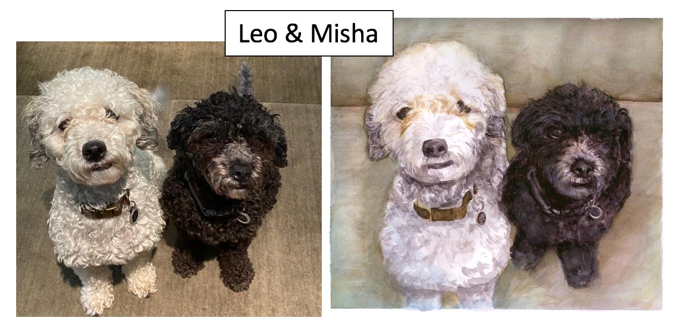 Leo & Misha by Erica Hooper