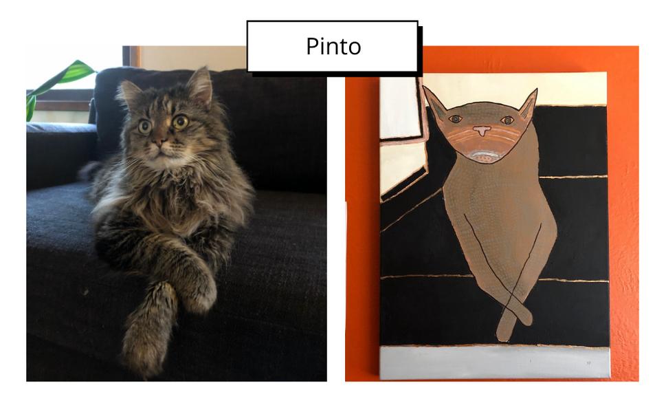 Pinto by Julia Pozsgai