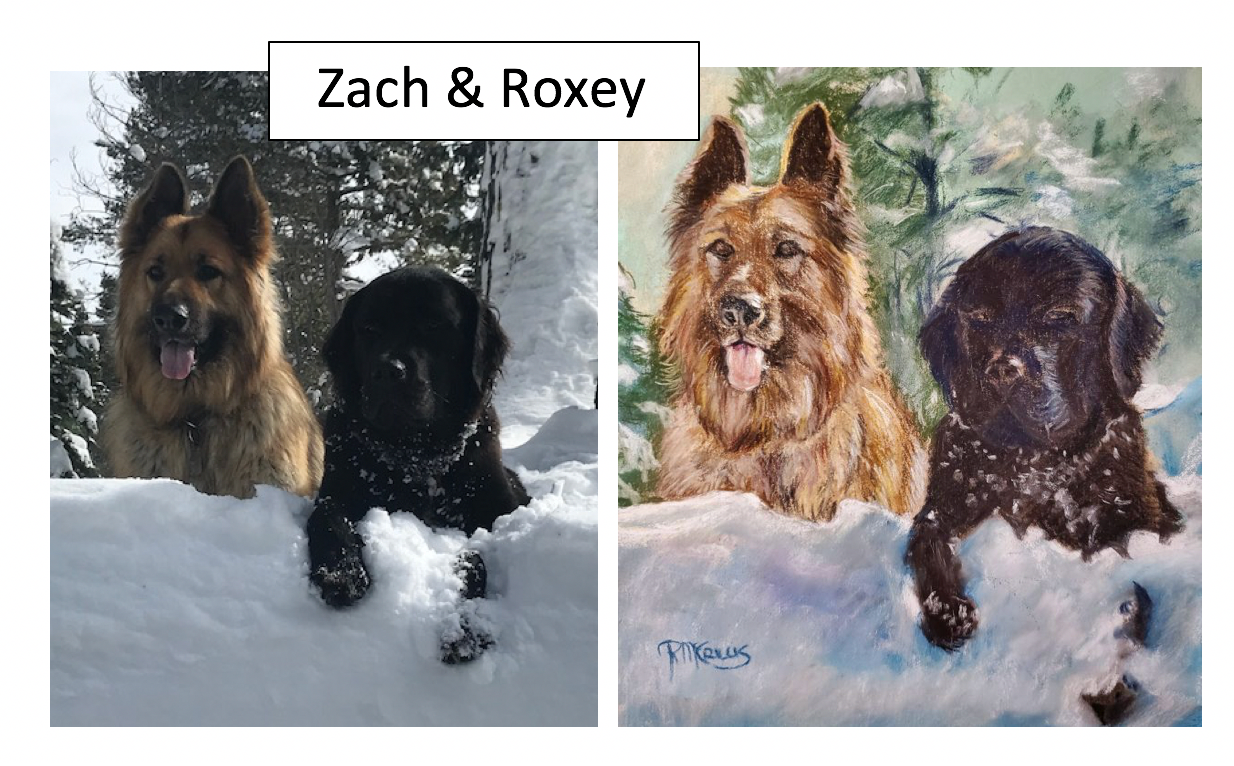 Zach & Roxey by Chelly McRillis