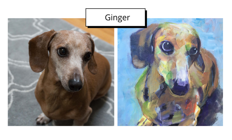 Ginger by Mary Lee Rybar