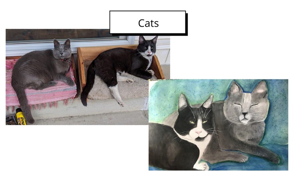 Cats by Patti Pines
