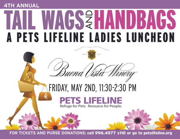 4th Annual Tailwags and Handbags a Huge Success!