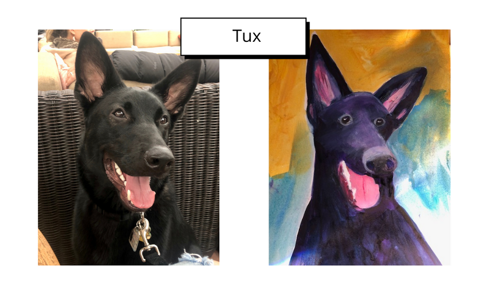 Tux by Linda Sherman