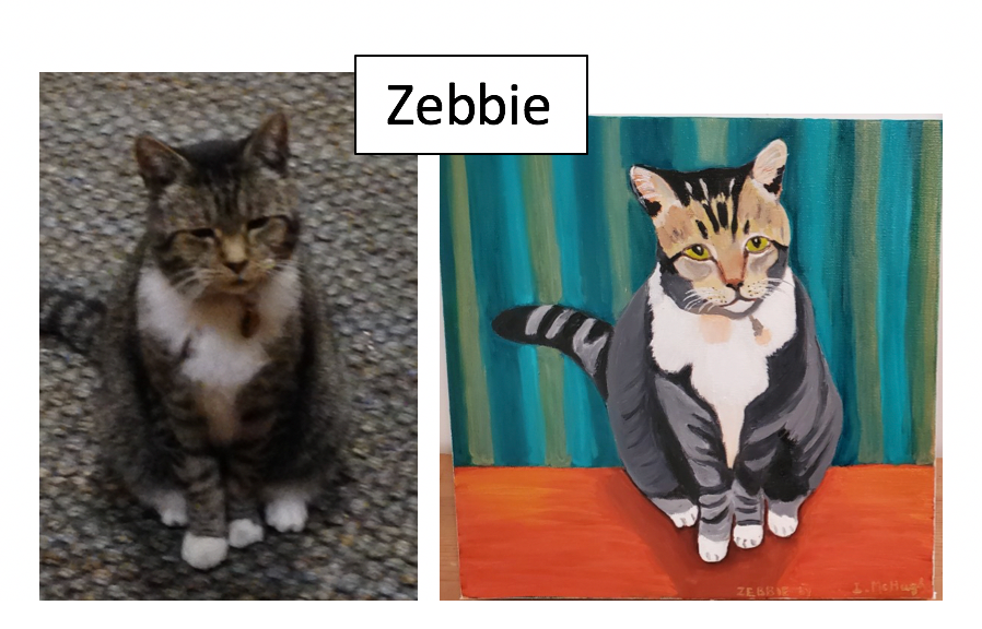 Zebbie by Irene McHugh