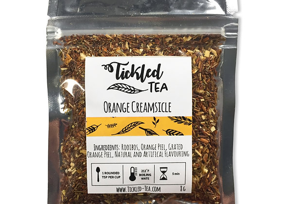 Orange Creamsicle Sample