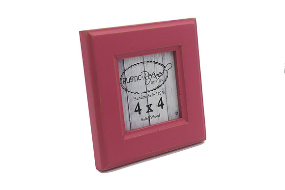 4x4 Moab picture frame - Hot Pink