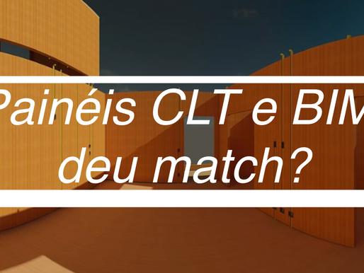 Painéis CLT e BIM, deu match?