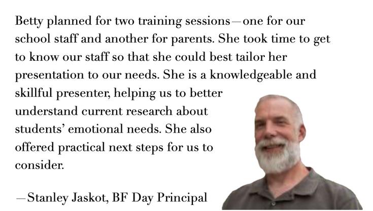 Stanley Jaskot, BF Day Principal