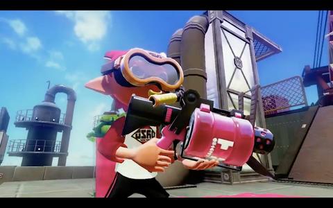 Nintendo Splatoon Screengrab