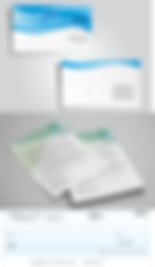Links to business basics including business cards, letterhead and chequess