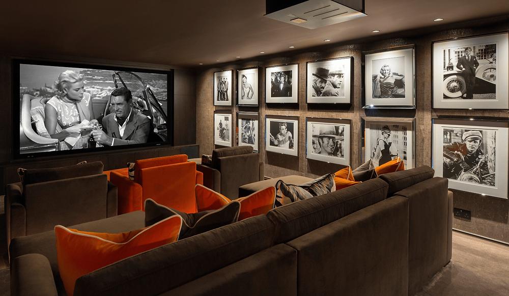 Luxury Home Cinema Room