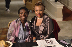 Hostess Donna and Author Mary