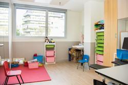 Sala de terapia ocupacional