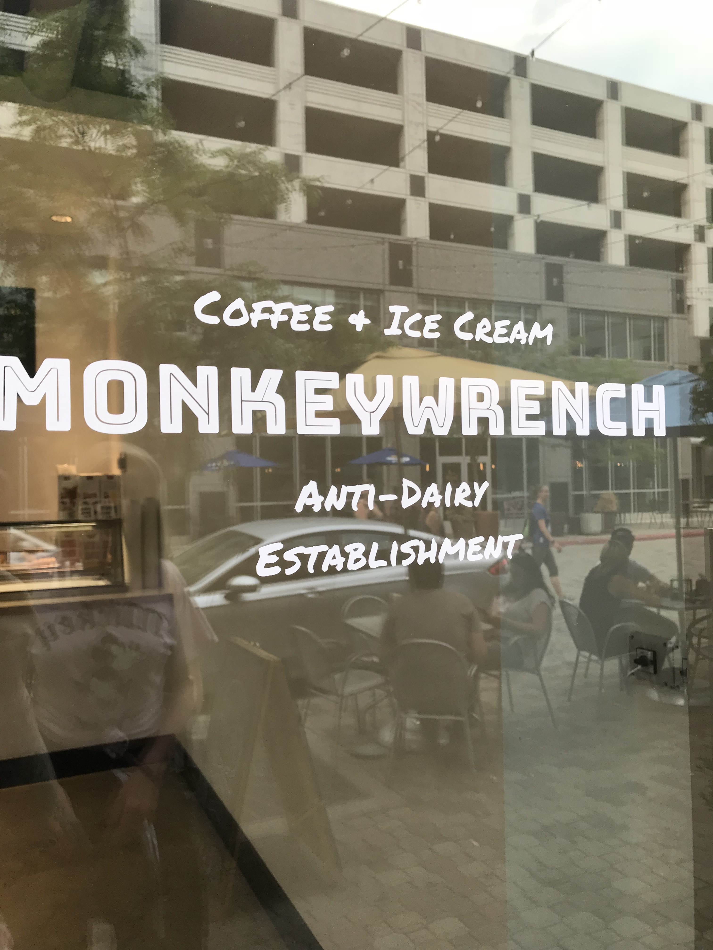 Monkeywrench Ice Cream