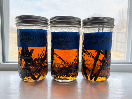 Planning for next Christmas: Homemade Vanilla Extract
