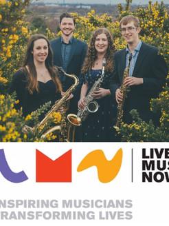 Borealis Saxophone Quartet - Live Music Now
