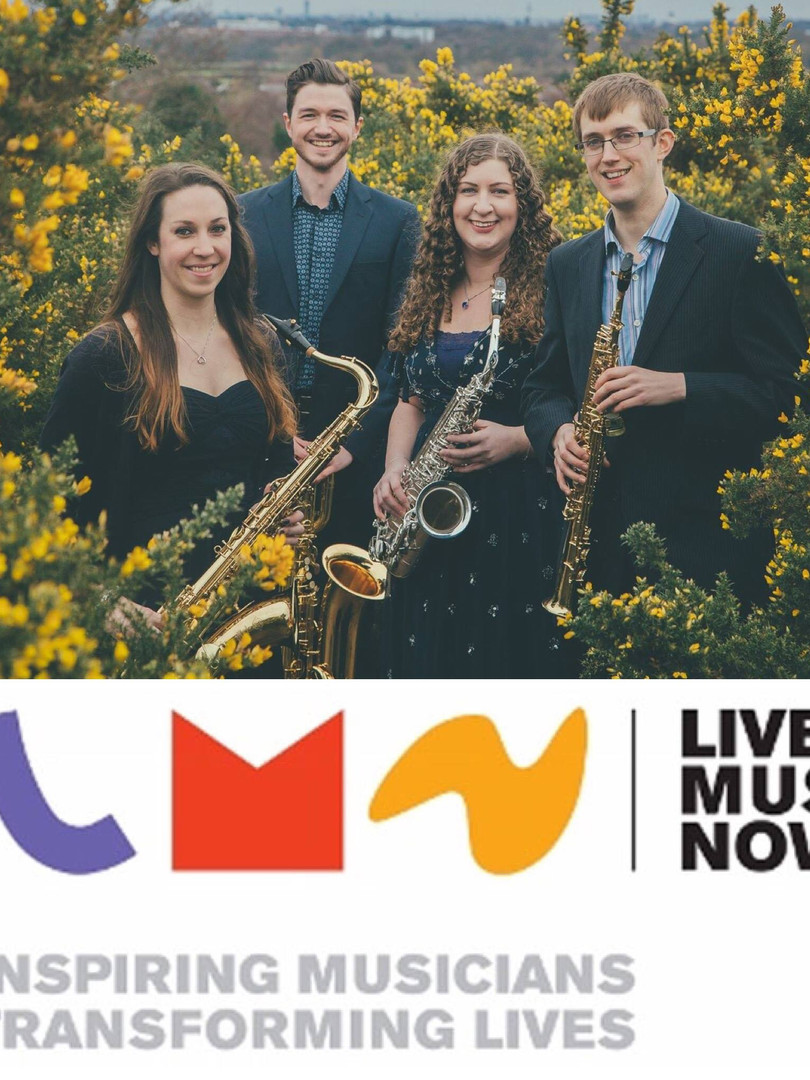 Borealis Saxophone Quartet - Live Music Now