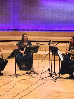Borealis Saxophone Quartet - RNCM Concert Hall