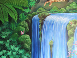 Jungle mural, Thetford 2018
