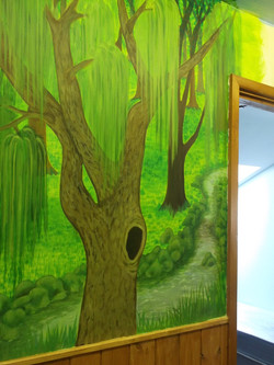 Forest Seasons Corridor Mural 2015