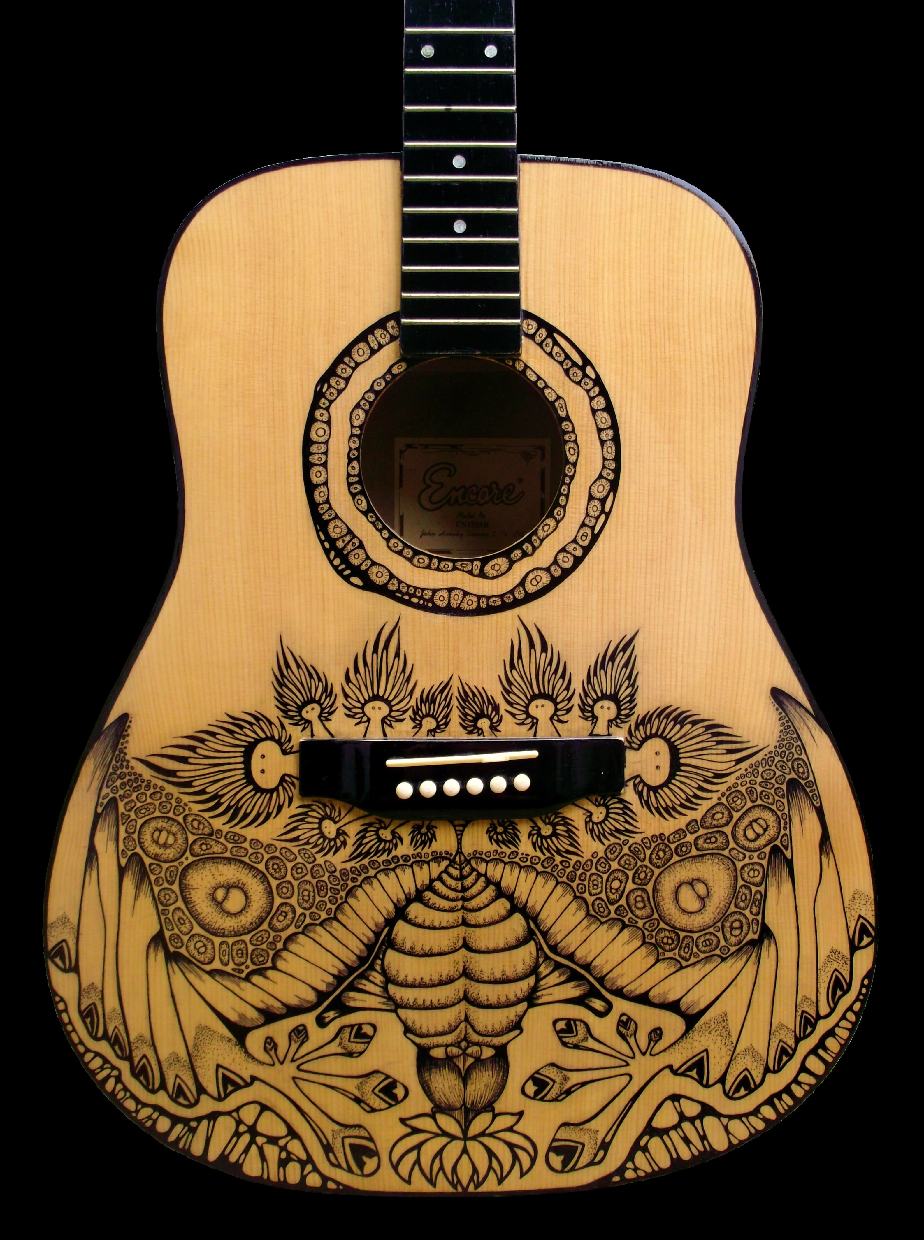 best guitar black