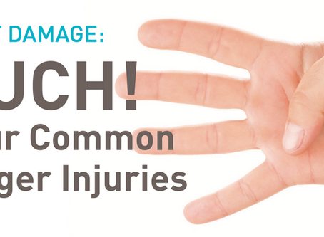 Digit Damage: Four Common Finger Injuries