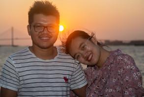 Sunset Happiness