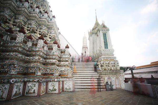 Ghosts at Wat Arun