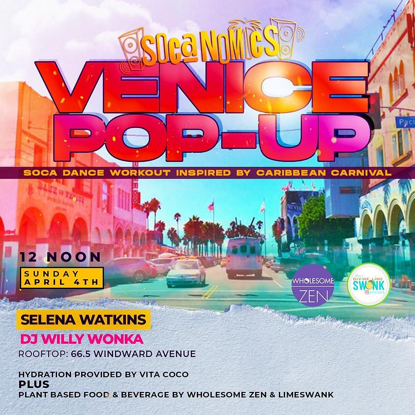 SOCANOMICS VENICE POP-UP