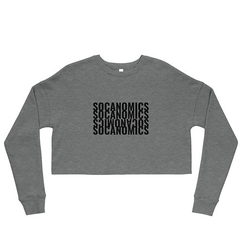 Socanomics Basics Crop Sweatshirt