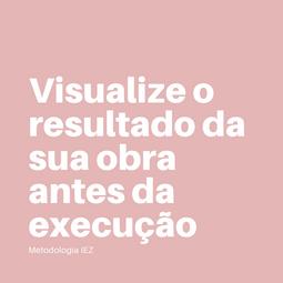 Na IEZ nós desenvolvemos os projetos em uma plataforma digital que simula o ambiente construtivo virtual, também conhecido como BIM. Somos um dos pioneiros em Brasília a desenvolver projetos totalmente nessa plataforma