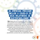 A COVID-19 e os Relatórios de Sustentabilidade