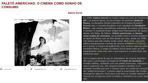 Sombras Elétricas e Revista Moviola (1998/2004)