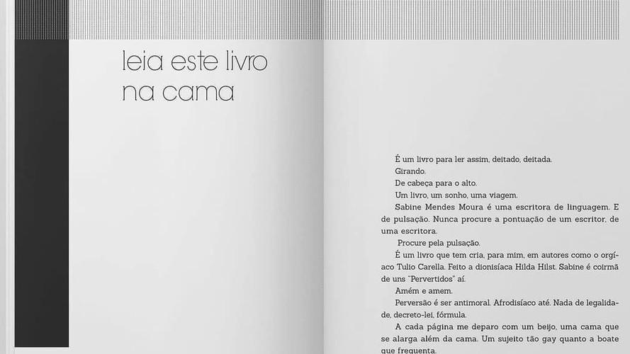 Com prefácio lindo do Marcelino Freire