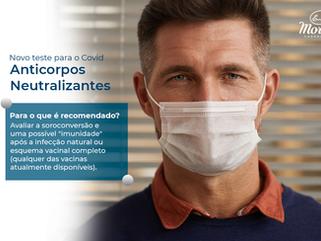 Chegou o novo teste de Anticorpos Neutralizantes para Covid-19! 🦠