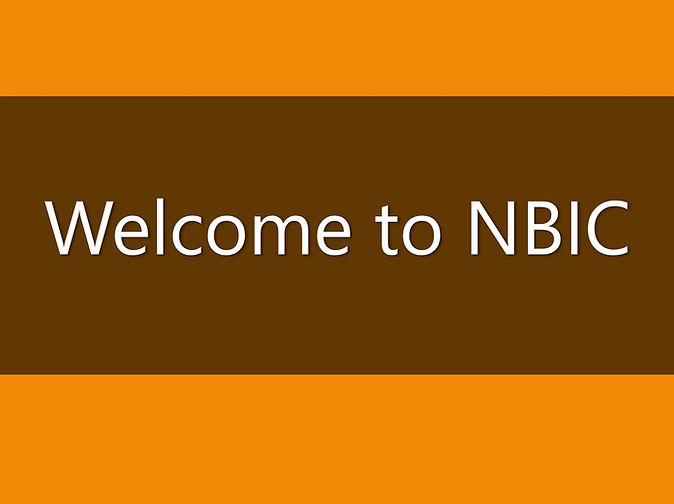 Welcome to NBIC