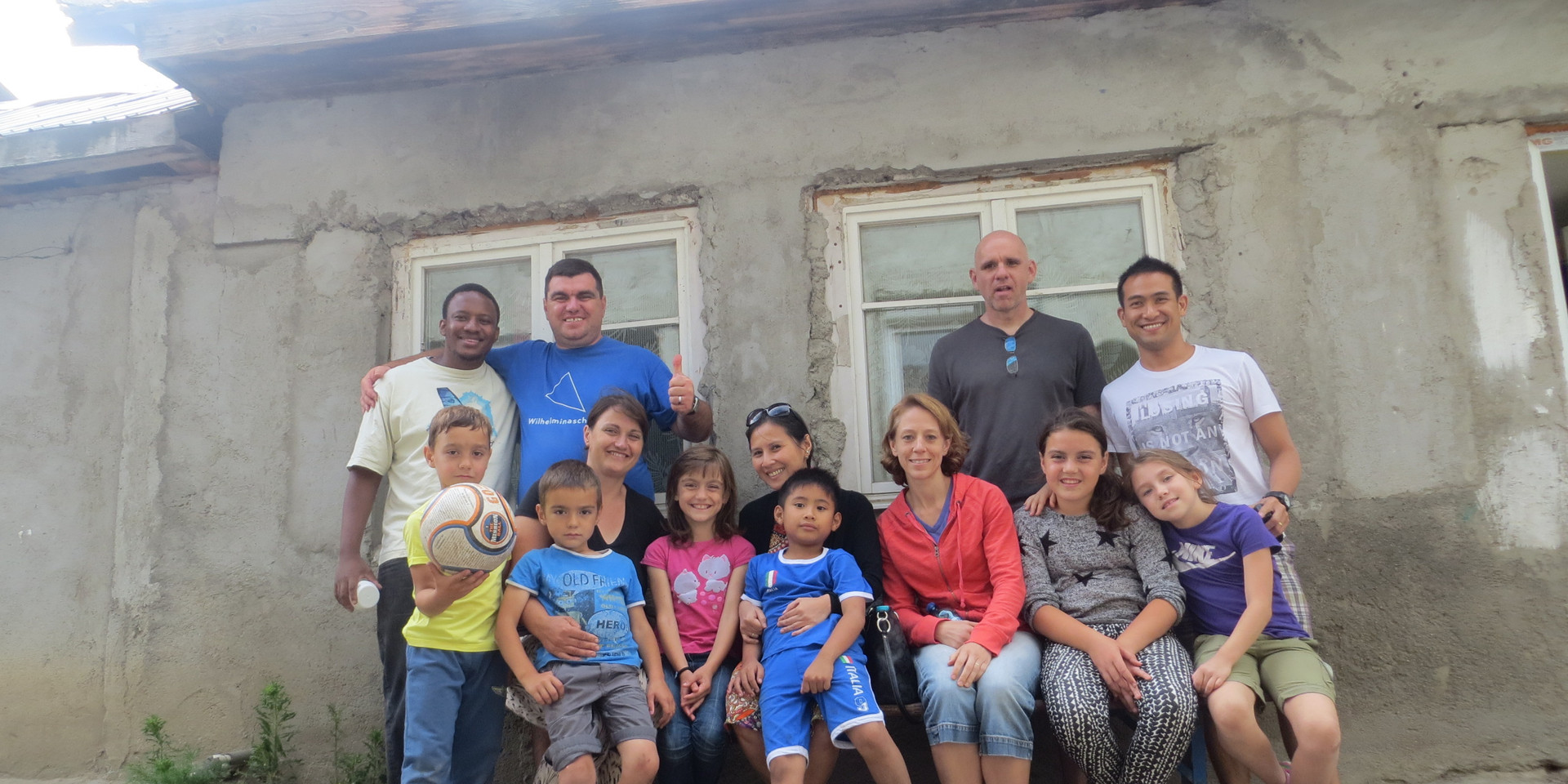 NBIC Team with missionary family
