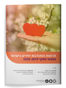 Individual giving and volunteering in Israel. Research findings 2019-2020 (Heb)