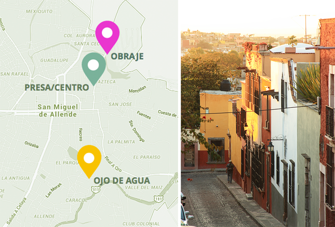 Where is the Perfect Location for Your New Home in San Miguel?