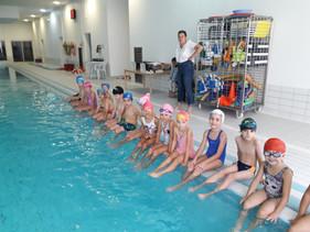 A la piscine!!! Les CP coquelicots