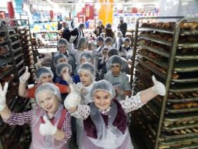 Sortie à la boulangerie Carrefour