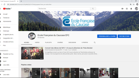 Chaîne youtube de l'EFC