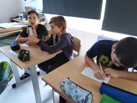 Correspondance avec la classe de CM2  de  l'école Ste Anne de la ville de Belley