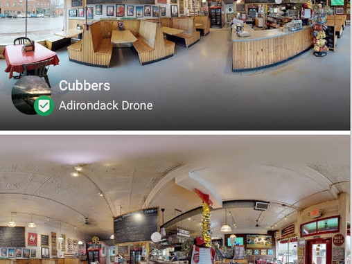 Adirondack Drone offers 3D Virtual Tour with Google Integration