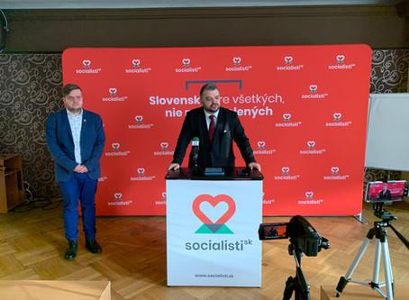 Socialisti.sk chcú zmeniť priority štátu