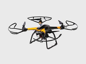 Drone y negro amarillo