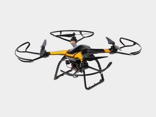 Black and Yellow Drone