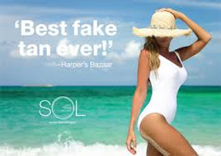Harper's Bazarr Sol HQ Tanning Article