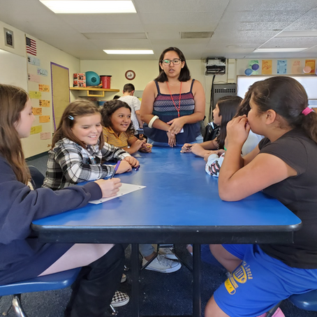 Middle School Monthly Mentors: Fall 2019